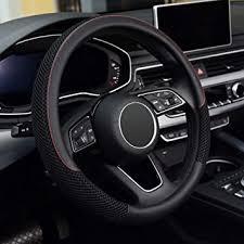KAFEEK Steering Wheel Cover, Universal 15 inch ... - Amazon.com