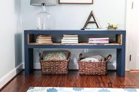 easy ikea lack sofa table hack, chalk paint, diy, home decor, living