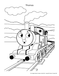 Thomas Kleurplaten The Train Coloring Pages Kleurplaten Thomas De