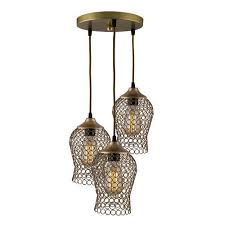 modern and tradional metal cer chimney shaped chandelier lamp
