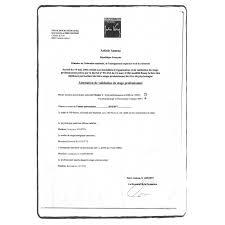 Internship Certificate Certified Translation