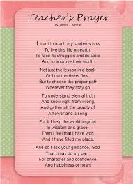 A Teacher's Prayer for Every Parent and Educator