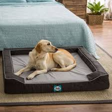 sealy lux extra large memory foam pet bed large dog beds on sale33