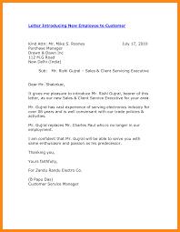 6 Customer Introduction Letter Samples Odr2017
