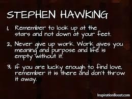 Stephen Hawking Quotes. QuotesGram via Relatably.com