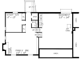 How To Design Basement Floor Plan Adorable Country Style House Plan 48 Beds 48 Baths 48 SqFt Plan 7485548