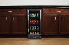 built in beverage cooler.  Built EdgeStar 80 Can BuiltIn Beverage Cooler  BlackStainless Steel On Built In Amazoncom
