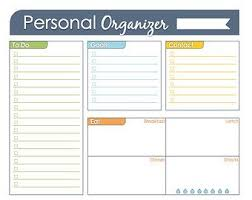 Daily Checklist Planner Mini Day Planner Printable Fillable Daily Planner Weekly Etsy