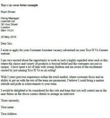 Cover Letter For Application Amazing Job Application Cover Letter Us Toys R Example 48 48 Simple