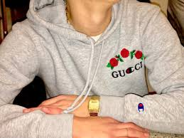 gucci champion hoodie. sweater gucci cool trendy champion long sleeves hoodie grey beautifulhalo m
