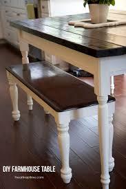 pdf diy how to build a farmhouse kitchen table farmhouse kitchen table lighting
