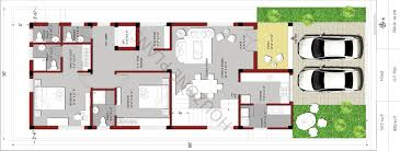 30 x 80 east facing 4 bedroom house design