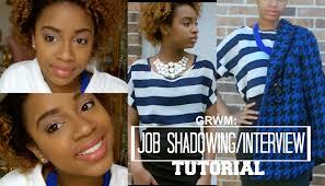 grwm job shadowing interview tutorial beautybytommie grwm job shadowing interview tutorial beautybytommie
