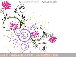 Small Picture Abstract red flower wallpaper wallpaper wall stickers dec