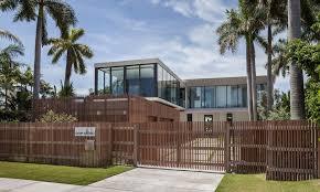 Elegant Beachside House Design In Miami Beach Fascinating Miami Home Design Exterior