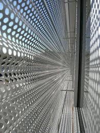 perforated metal screen. Undulating Perforated Metal Screen U