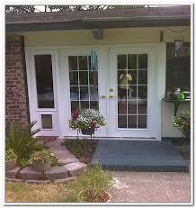 surprising pet door for sliding glass door interesting door with built in dog screen door how