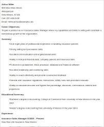 Sales Resume Format Sample 9 Examples In Word Pdf