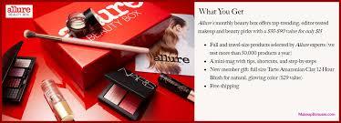 allure beauty box makeupbonuses