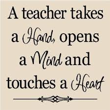 teacher quotes-canvas, painted quote, name/year on back on ... via Relatably.com