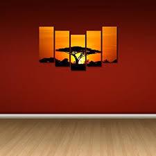 multiple picture frames. 999Store Multiple Frames Wall Art Panels Sunboard Frame Printed Sun Set Tree Like Modern Picture