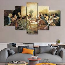 image is loading jesus christ wall art framed canvas print the  on framed canvas wall prints with jesus christ wall art framed canvas print the last supper christian
