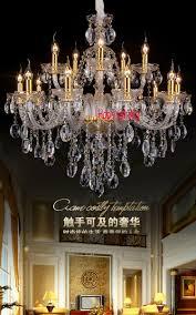 Us 5750 Stoffschirm Kristall Kronleuchter Wohnzimmer Führte Kronleuchter Mit Schatten Kerze Gold Kronleuchter Führte Moderne Luxus Kronleuchter In