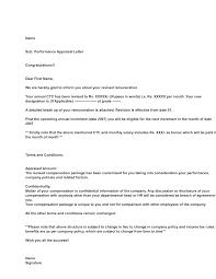 appraisal letter performance appraisal letter format rome fontanacountryinn com