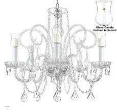 hanging crystal candle holder hanging candle holder chandelier s hanging crystal chandelier candle