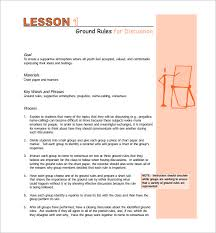 Middle School Lesson Plan Templates Middle School Lesson Plan Template 7 Free Word Excel
