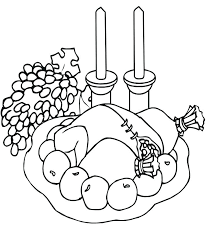 Free Turkey Coloring Page Free Printable Thanksgiving Coloring ...
