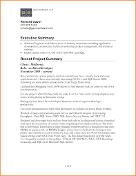 9 Resume Executive Summary Examples Men Weight Chart