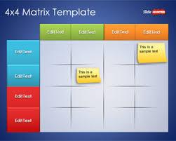 Matrix Chart Powerpoint Free Matrix Powerpoint Templates Free Ppt Powerpoint