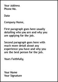 Job Cover Letter 3