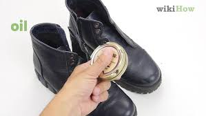 wikihow how to soften leather shoes