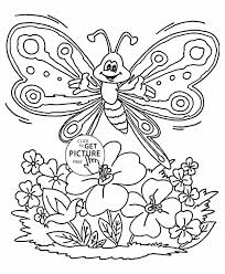 Small Picture Butterflies Coloring Pages Coloring Page Printable Pages Butterfly