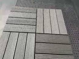 abba patio 12 x 12 inch outdoor four slat composite interlocking decking tile reviews