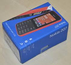 1 x Nokia 207 Mobile Phone With Fast 3 ...