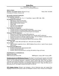 Sample software Engineer Resume software Developer Resume Includes the  Skills Abilities and