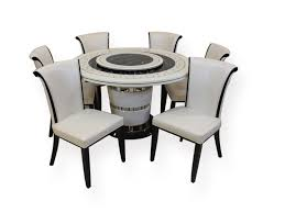 dining set buy online india. picture of sr/hs 1819 marble top 6 seater dining set dining set buy online india