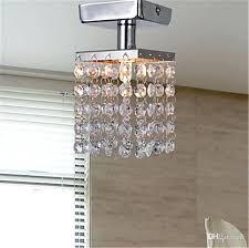modern mini chandelier new arrival modern chandeliers ceiling lamp crystal chandeliers mini semi flush mount in