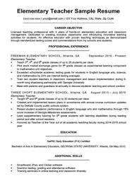 Preschool Teacher Resume Sample & Writing Tips | Resume Companion