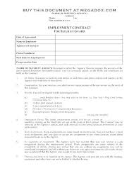 Temporary Employment Contract Template Employment Agreement Template Free Download