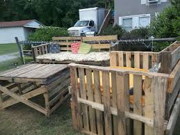 furniture of pallets. outdoor furniture from pallets living painted pallet of r