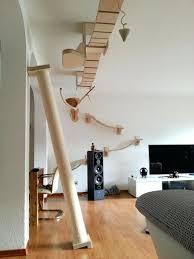 cool cat tree furniture. Exceptional Designer Cat Trees Furniture Tree Fabric Maze En Regarding Modern Cool C