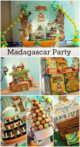 Great Madagascar party ideas for a boy birthday! See more party ideas at  CatchMyParty.