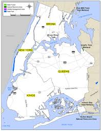 new york city recreation map  nys dept of environmental conservation