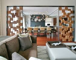 inspiration for a mid sized contemporary um tone wood floor living room remodel in new