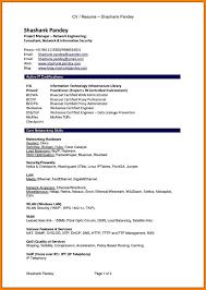 10 Cv Format In Pdf Portfolio Covers