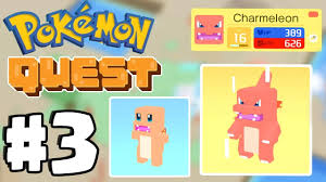 Charmander Evolves World 3 Pokemon Quest Gameplay Part 3 Switch Ios Android